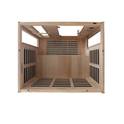 DYN-6444-04 Dynamic Low EMF Far Infrared Sauna, Modena Edition