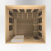 ***New 2020 Model*** Catalonia 8 Person Ultra Low EMF FAR Infrared Sauna