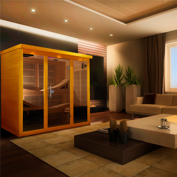 DYN-6996-01 Near Zero EMF Far Infrared Sauna