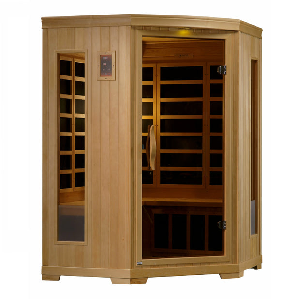 GDI-3356-01 3 Person Low EMF FAR Infrared Sauna Torino