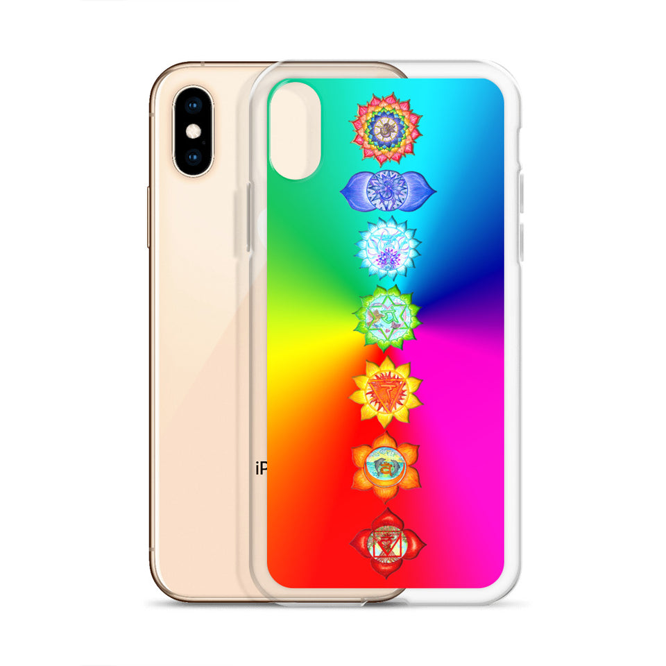 Rainbow Chakra iPhone Case