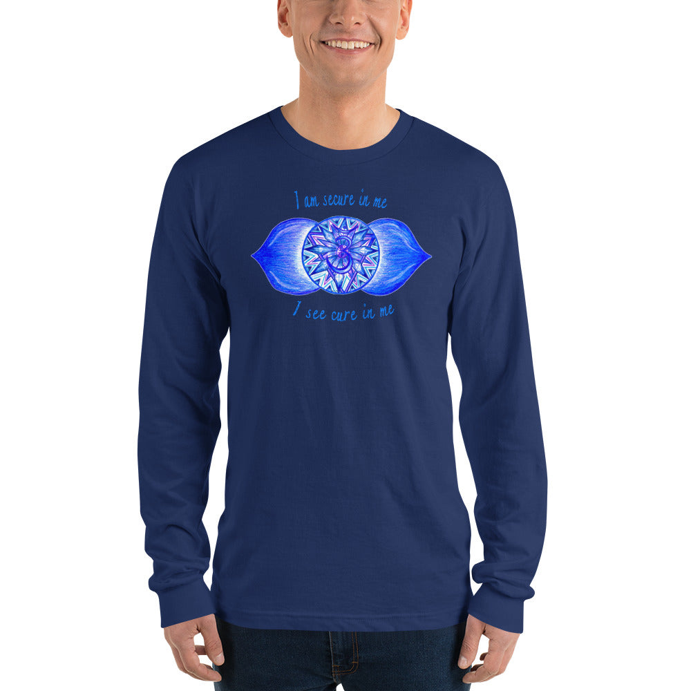 Long sleeve Third Eye t-shirt (unisex)