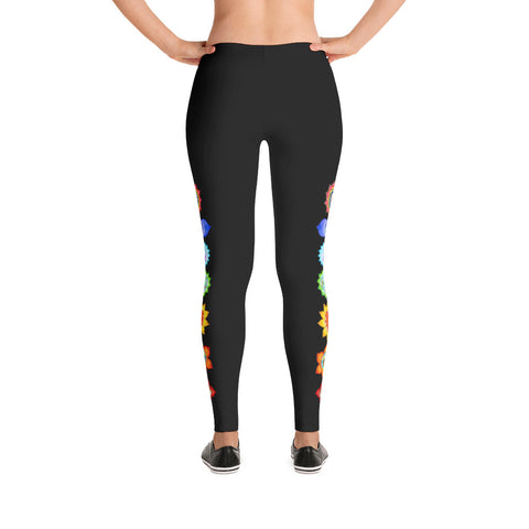 Image of Chakra Leggings - Black