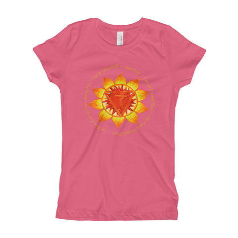 Image of Solar Plexus Girl's T-Shirt