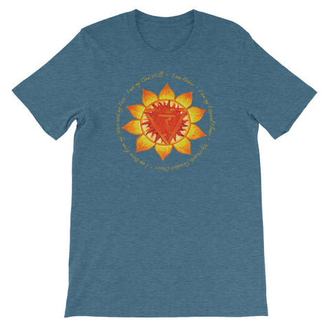 Image of NS X Solar Plexus Chakra - Short-Sleeve Unisex T-Shirt