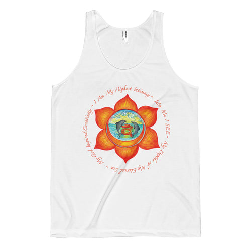 Sacral Chakra Classic fit tank top