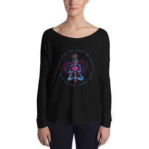 Ladies' Long Sleeve Embody LoveTee