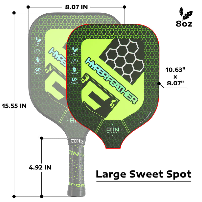 Complete Pickleball Game Set - 1 Regulation-Sized Portable Net | 2 Paddles | 16 Balls