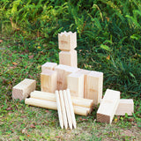 A11N Friendswood Kubb Viking Game