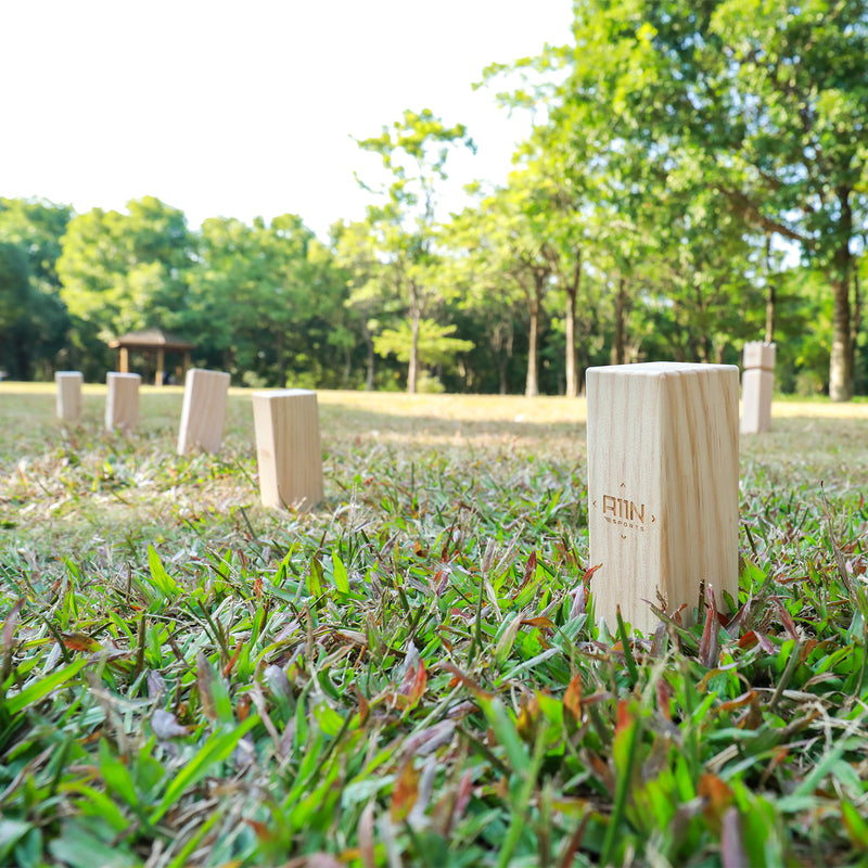 A11N SPORTS Sporting Goods > Outdoor Recreation > Outdoor Games > Lawn Games Friendswood Kubb Viking Chess Lawn Game