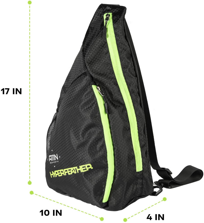 Pickleball Bag- Reversible Crossbody Sling Backpack