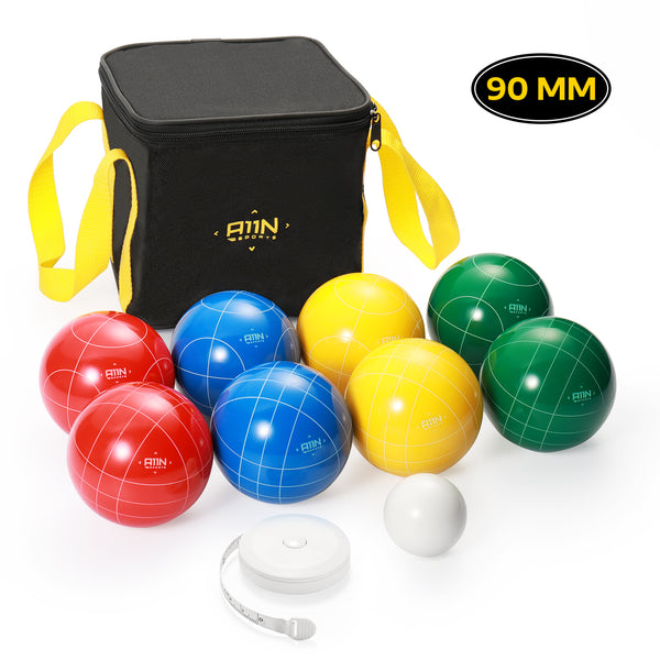 A11N SPORTS Sporting Goods > Outdoor Recreation > Outdoor Games > Lawn Games 90mm Backyard Bocce Ball Set