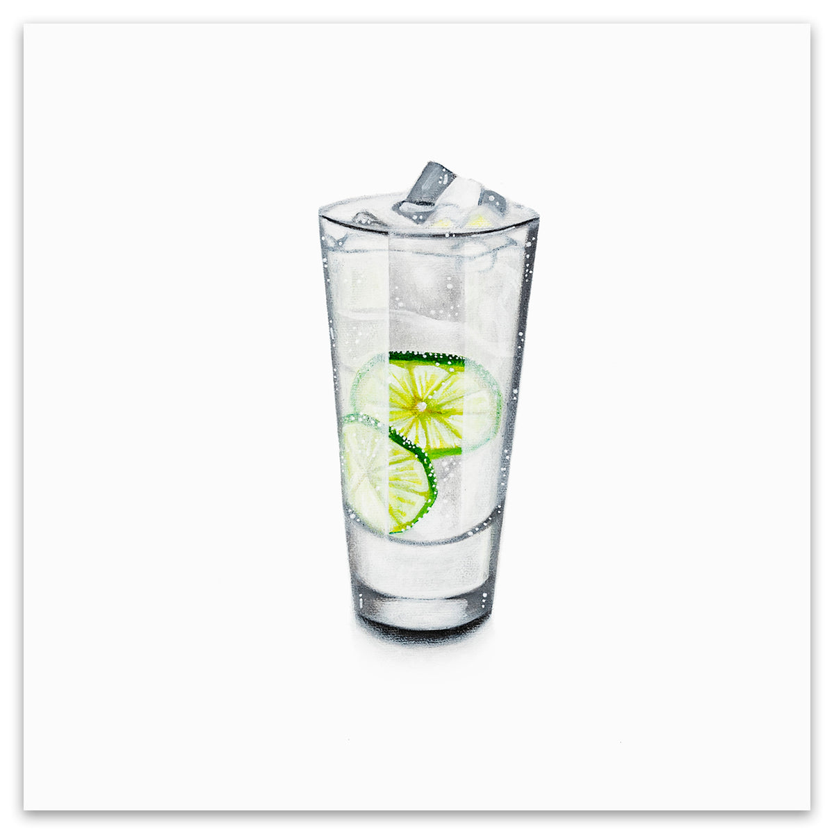 GIN AND TONIC - White