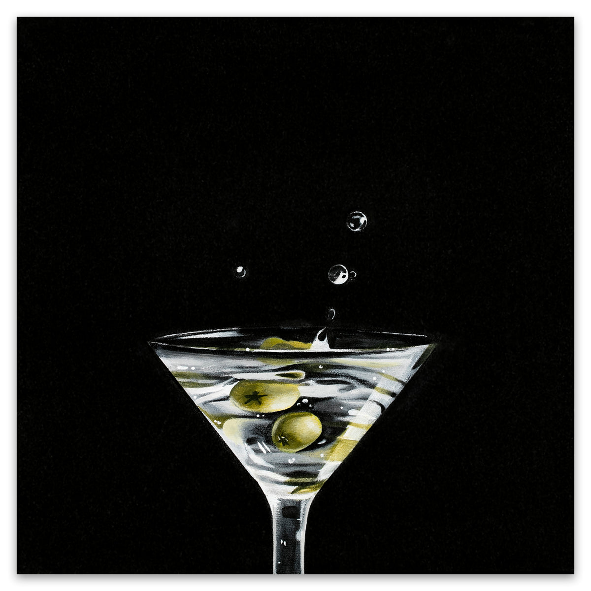 DIRTY MARTINI SPLASH (HALF)