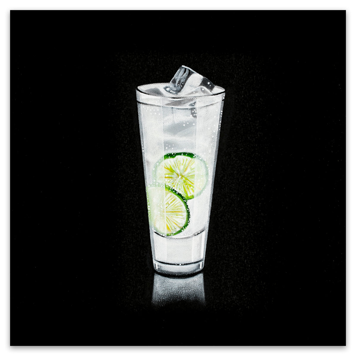 GIN AND TONIC - Black