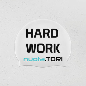 Cuffia in Silicone - Hard Work Pays Off - nuota.TORI