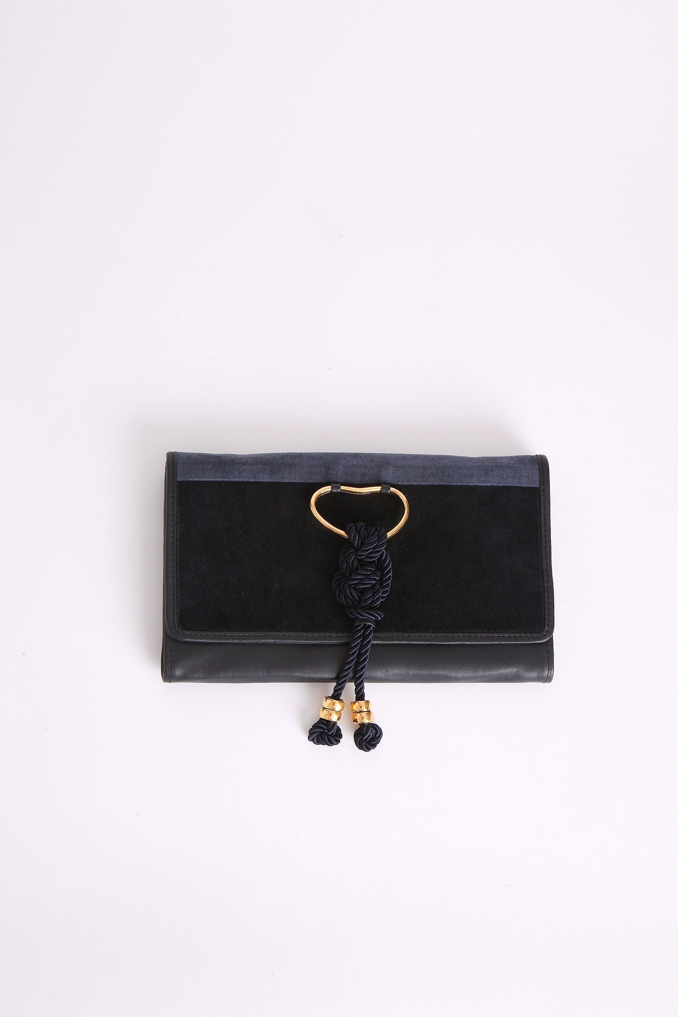 Opera Clutch in Navy