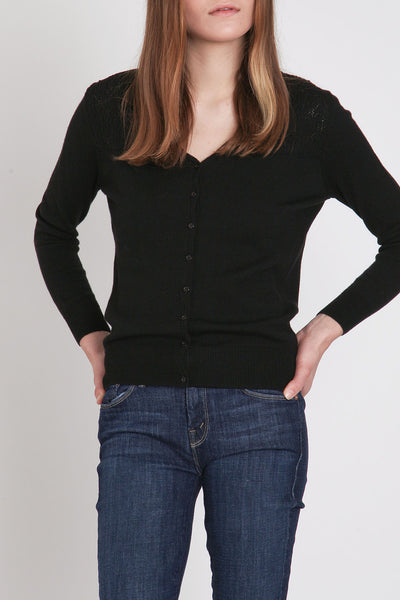 A. Cheng / Paloma Cardi in Black