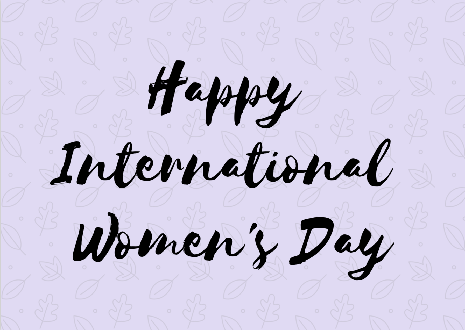 International Women's Day - Cards