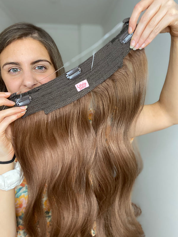 Royal Blood Halo Hair Extension 60g