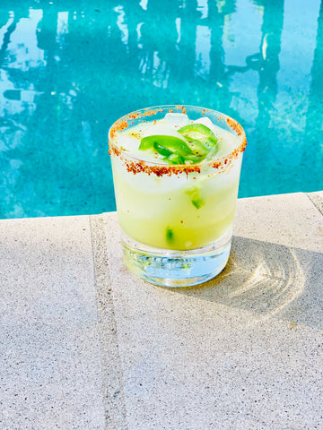 spicy skinny margarita