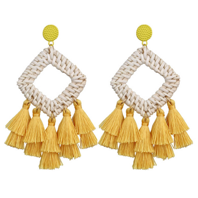 Canary Cabana Earrings