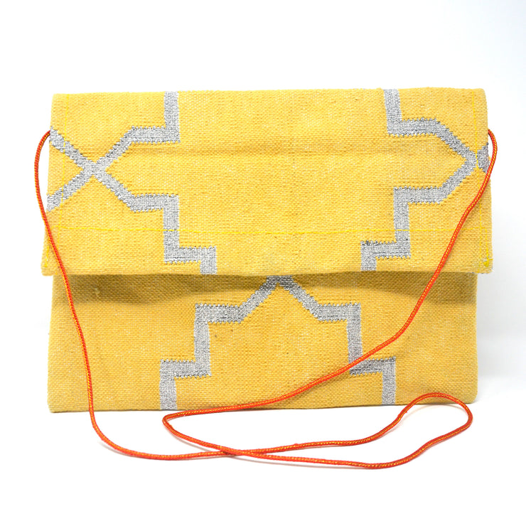 Mojito Clutch - Yellow