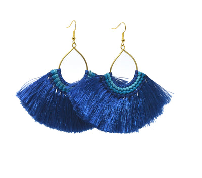 Blue Havana Earrings