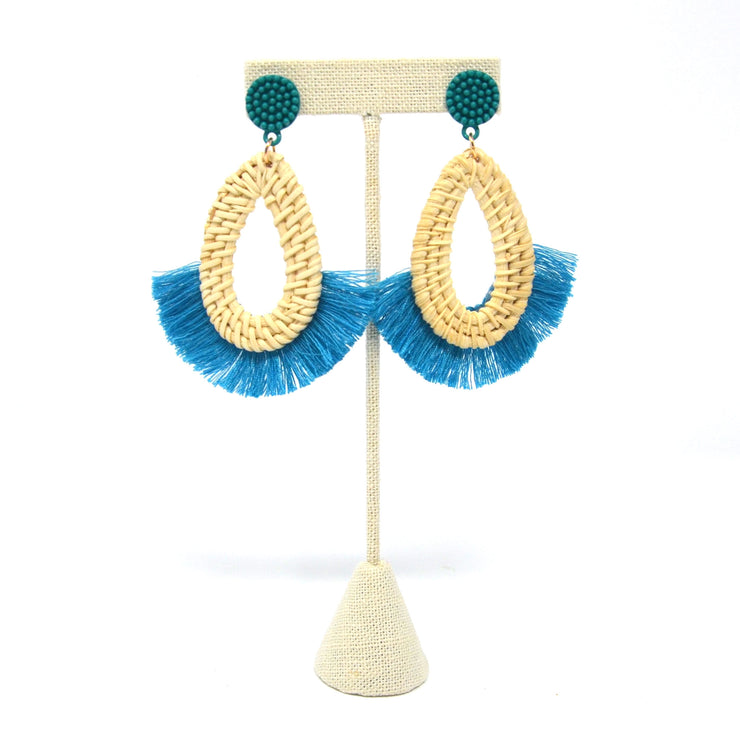 Teal Topanga Earrings