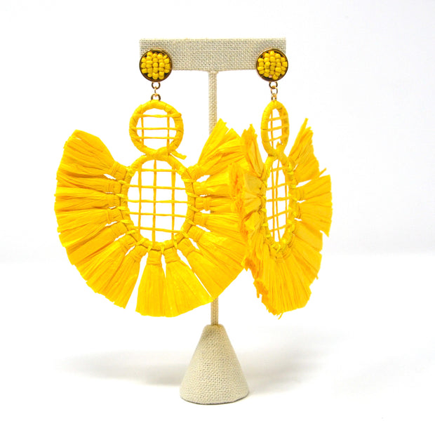 Rio Canary Earrings