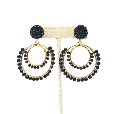 Celebrate Double Hoop Earrings