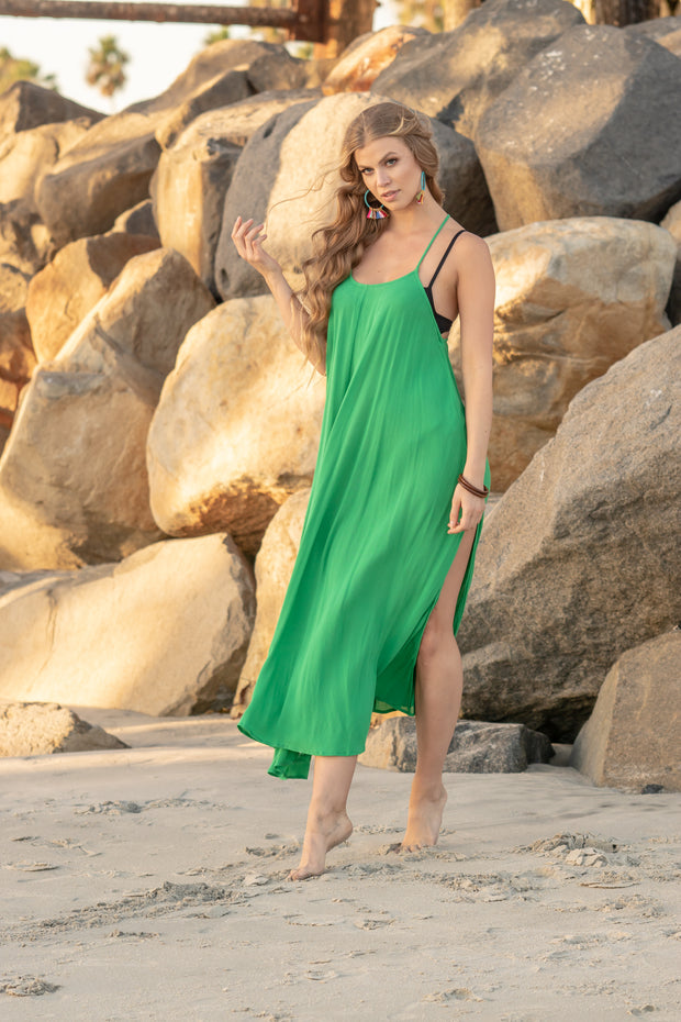 Seychelles Maxi Coverup in Green