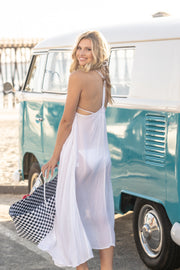 Seychelles Maxi Coverup in White