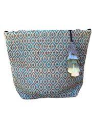 Seaglass Woven Bucket Bag