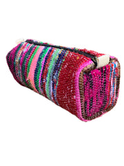 Santa Barbara Roll Pouch in Berry