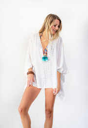 Catalina Coverup - White