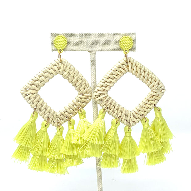 Neon Cabana Earrings