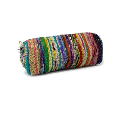 Santa Barbara Roll Pouch in Green