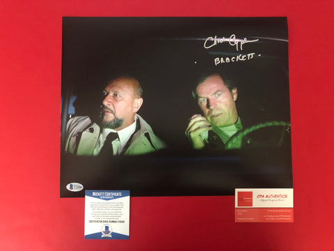 "Charles Cyphers signed 11""x14"" Halloween Michael Myers Photo - Beckett COA"