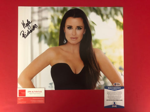 "Kyle Richards signed 11"" x 14"" Photo - Beckett COA"