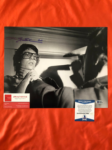"John Michael Graham signed 11"" x 14"" Halloween photo - Beckett COA"