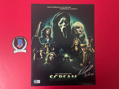 "Russell Streiner Judith O'Dea signed 12""x18"" Night of the Living Dead Poster - Beckett COA"