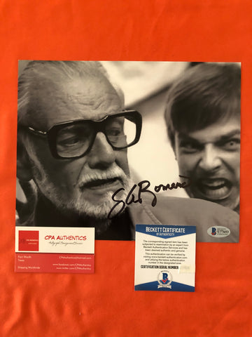 "George A. Romero signed 8""x10"" Photo - Beckett COA"