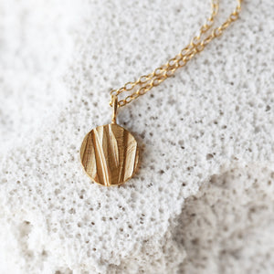Moon Necklace - Gold