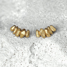 Load image into Gallery viewer, String Crystal Earrings - Gold