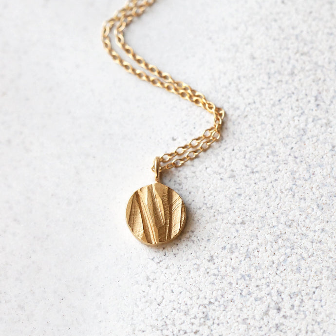 Moon Necklace - Golden