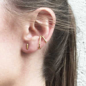 Fragment Studs - Silver