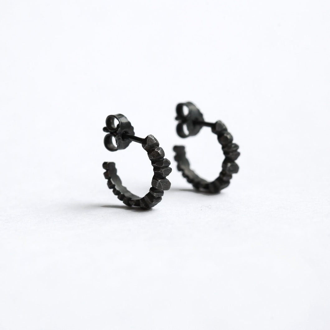 Crystallized Hoops - Dark