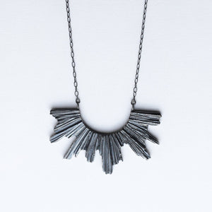Pectolite Necklace - Dark