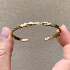 Facet Bracelet - Golden